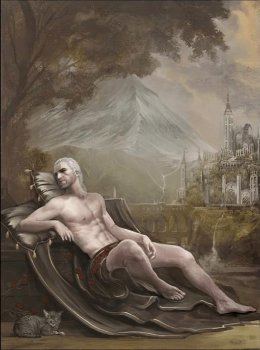 ウィッチャー3攻略: 老ウィッチャーの肖像 (DLC第2弾 血塗られた美酒、サイドクエスト)-トゥサン