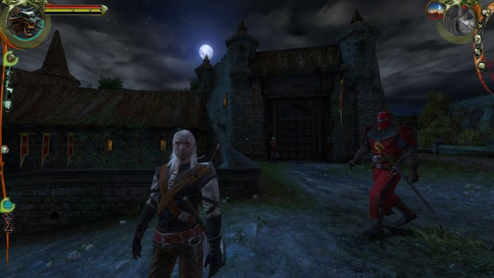 The Witcher 1 Geralt