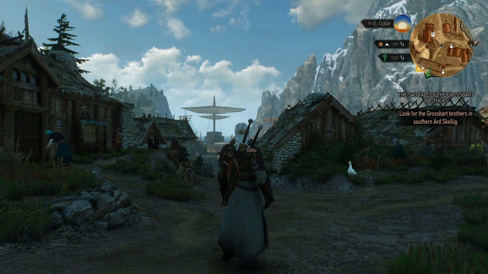 witcher 3 wild hunt travelling screenshot