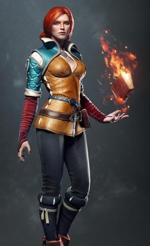 The Witcher 3: Wild Hunt - Triss Merigold