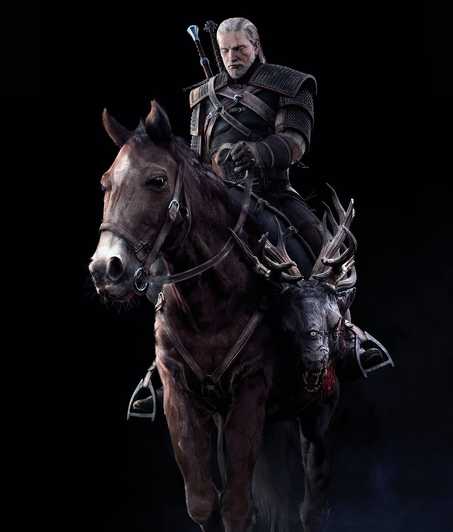 The Witcher 3: Wild Hunt Geralt Promo Art
