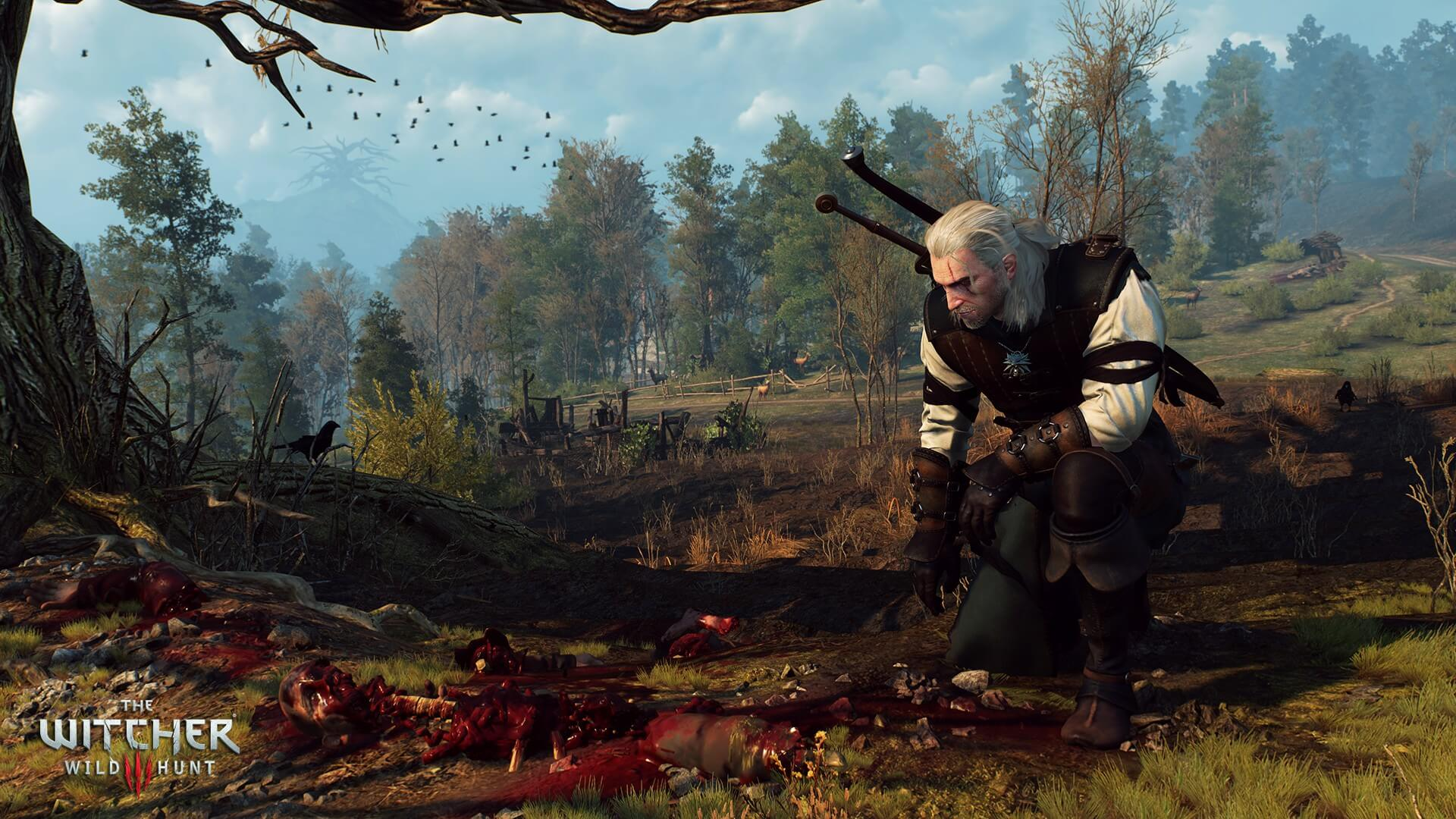 The Witcher 3: Wild Hunt Geralt Hunting Screenshot