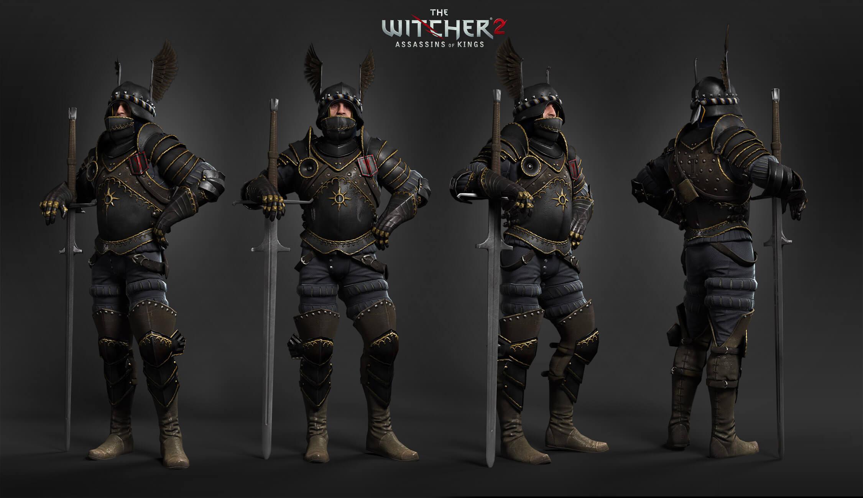 Witcher 3 Wild Hunt Nilfgaard Warrior design