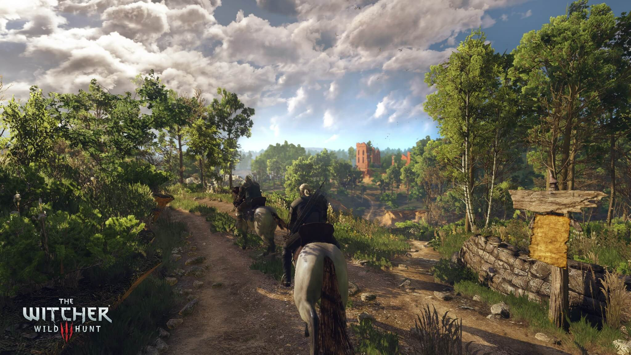 Witcher 3: Wild Hunt Forest Riding