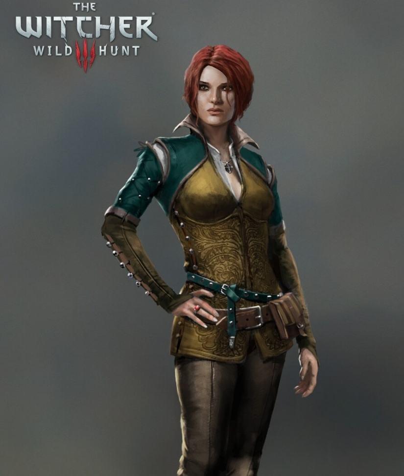 The Witcher 3: Wild Hunt Triss Merigold Artwork