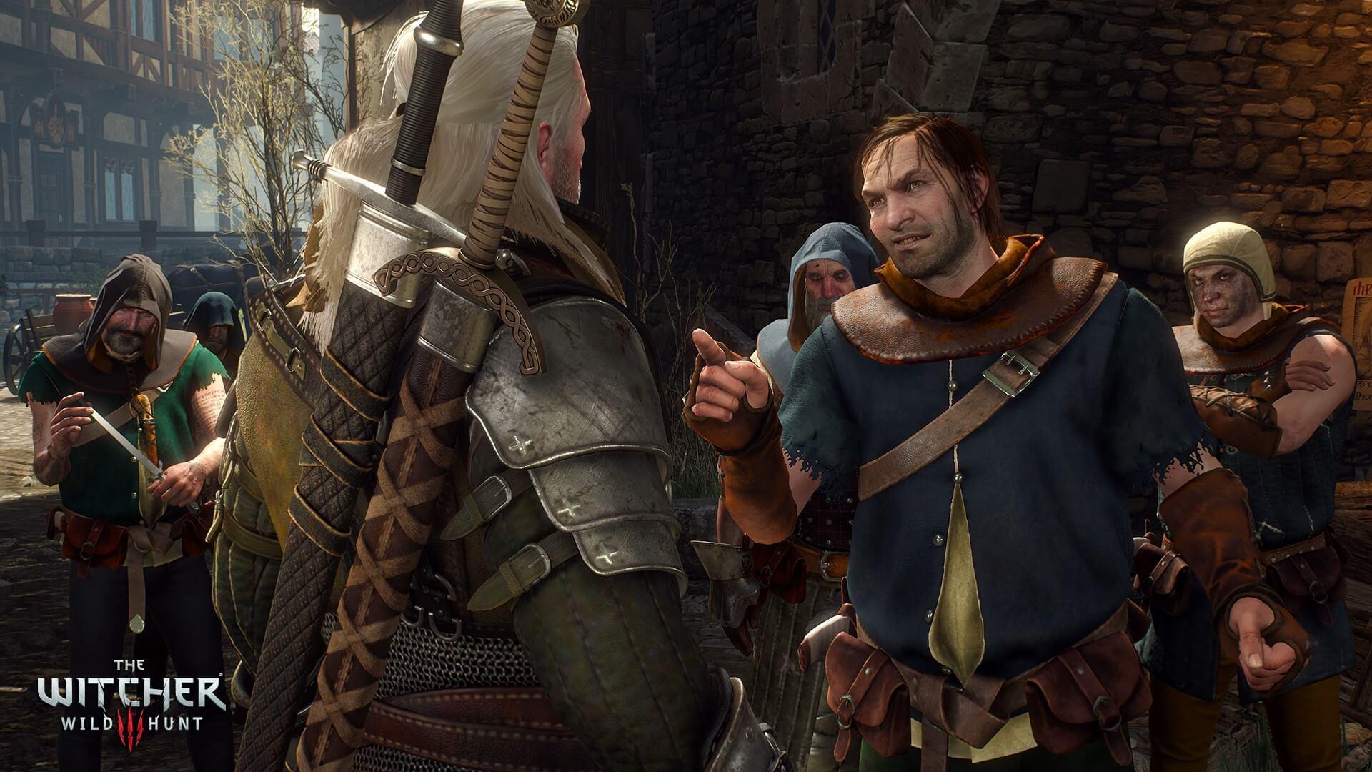 The Witcher 3: Wild Hunt Argument Screenshot