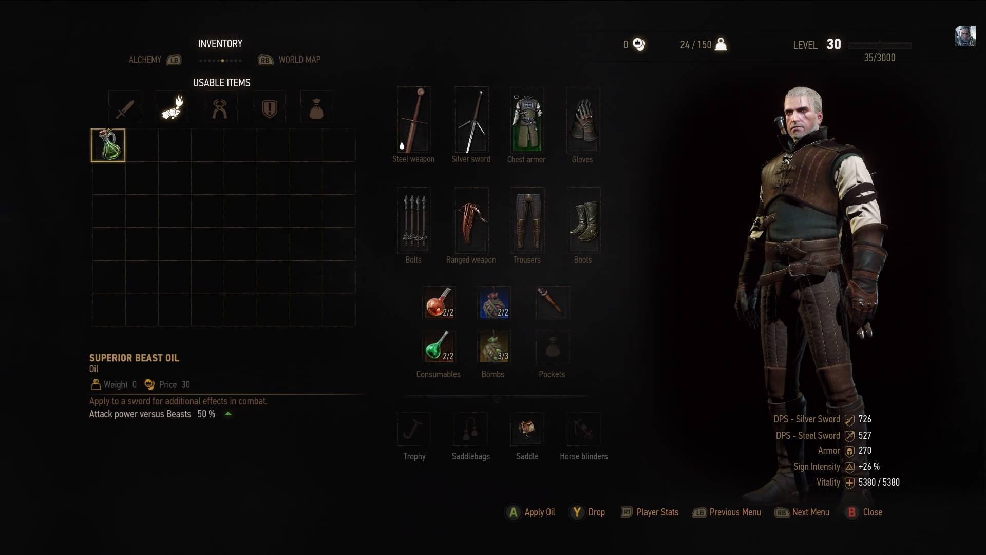 Witcher 3: Wild Hunt Alchemy