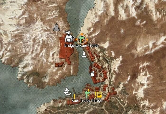 Witcher 3 Bear Ursine Gear Set Map Location