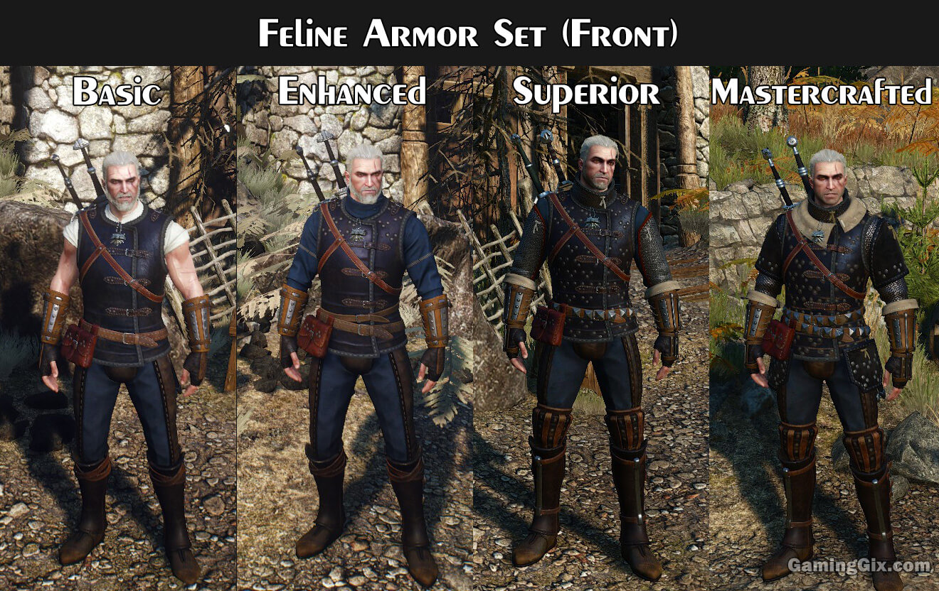 witcher-3-feline-armor-set