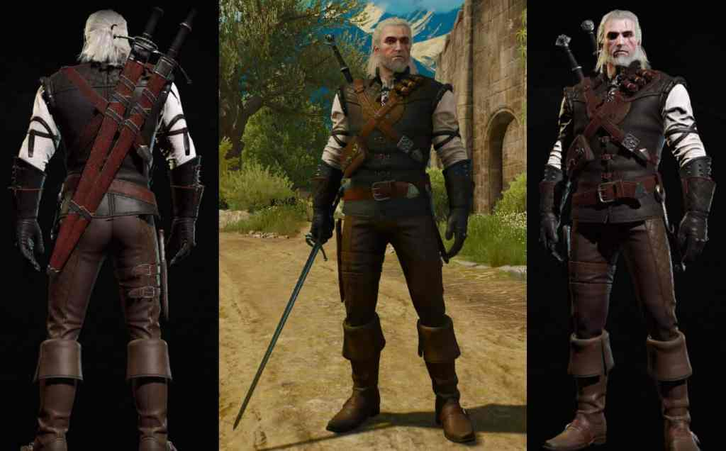 manticore witcher set look