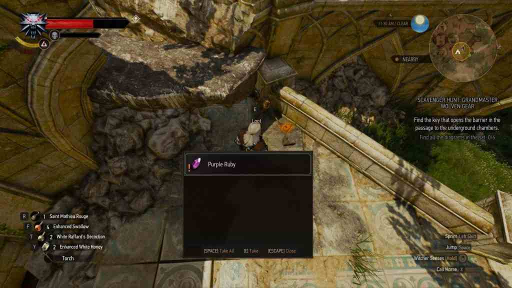 grandmaster wolven gear quest ruby portal