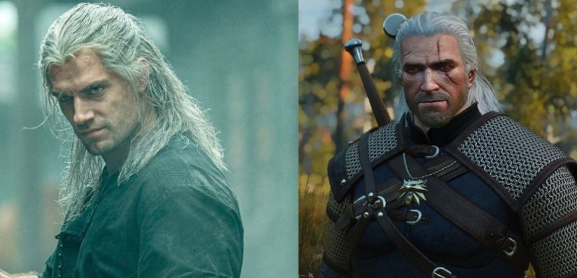 show-geralt-vs-game
