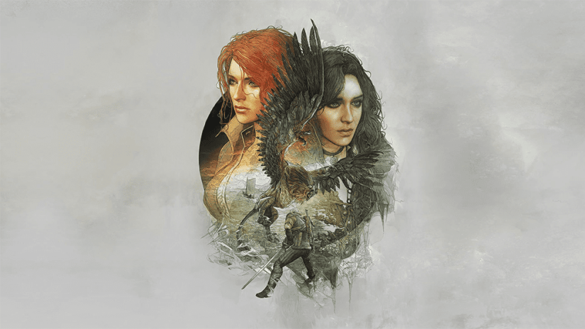 Triss (left) and Yennefer (right).