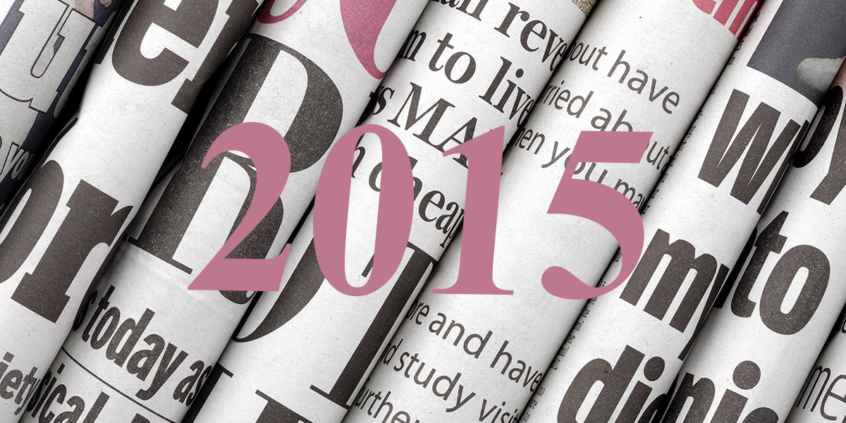 Press Clippings 2015