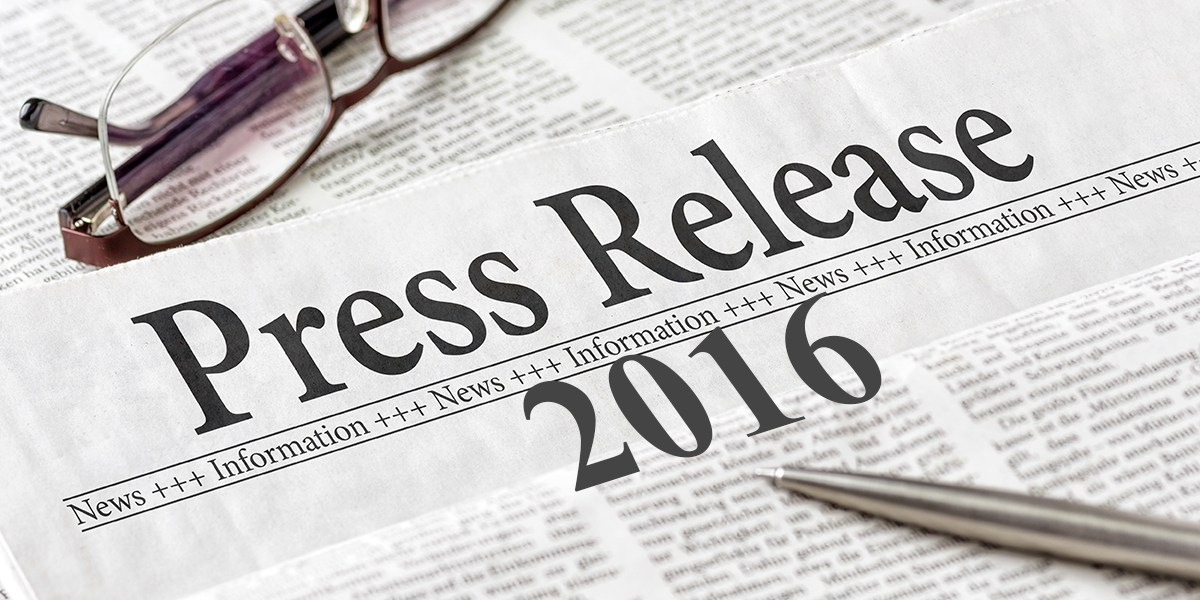 News Releases 2016