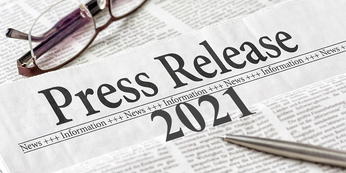 News Releases 2021