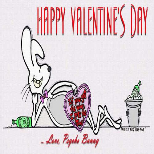 Celebrate Valentine's Day Psycho Bunny style!