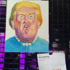 Anonymous. Art by Athea Blem. As seen at Knockdown Center for the Nasty Women art exhibition