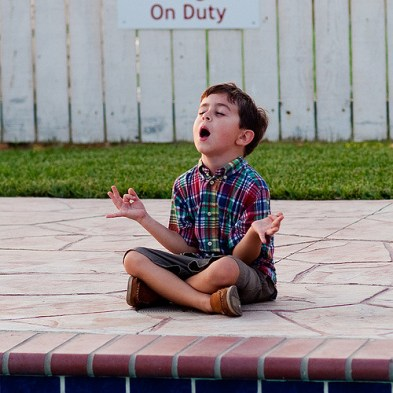 child chanting