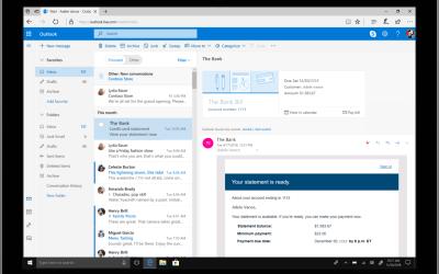 Novos recursos do Outlook em todas as plataformas