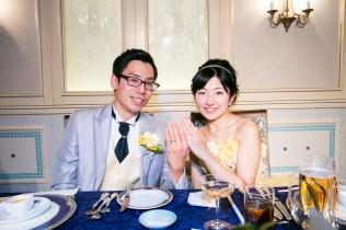 ホテルモントレ大阪 結婚写真