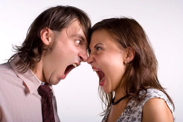 Fighting Fair - Couple fighting