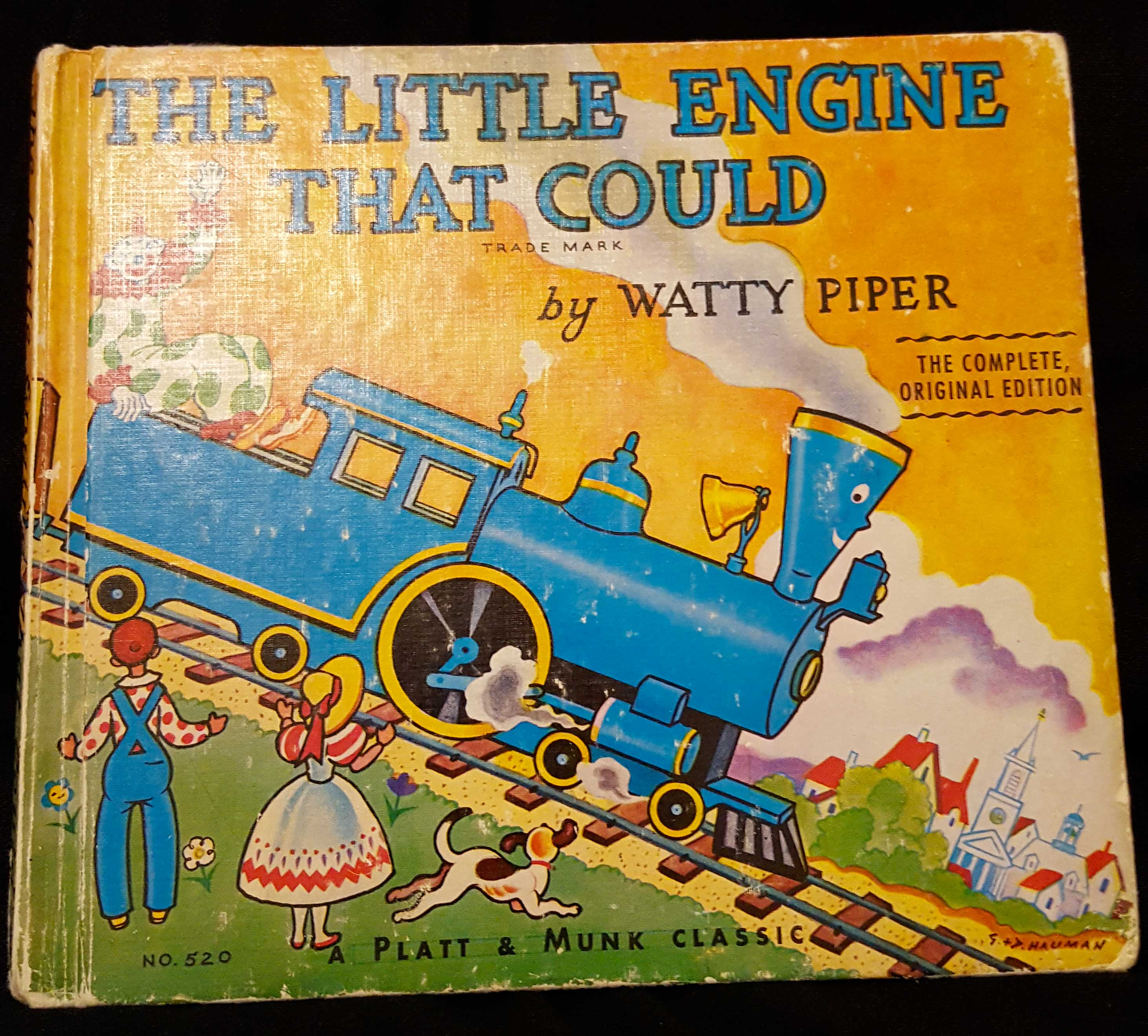 The Little Engine That Could Withagoodbook