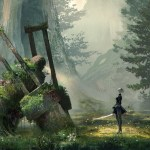 Where are the Humans in NieR: Automata?