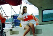Proudly showing off my handiwork (Courtesy flag for Tonga)