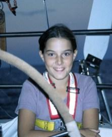 On watch underway to Australia (age 12)