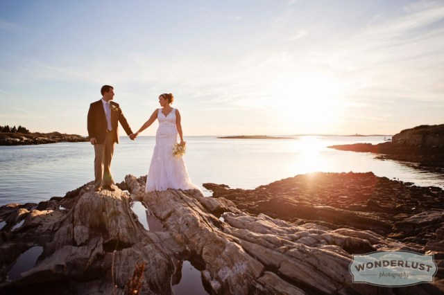 So exceptionally happily married on Bailey Island, Maine - Nov 10, 2012