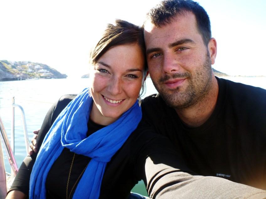 Leah + Jon afloat again...