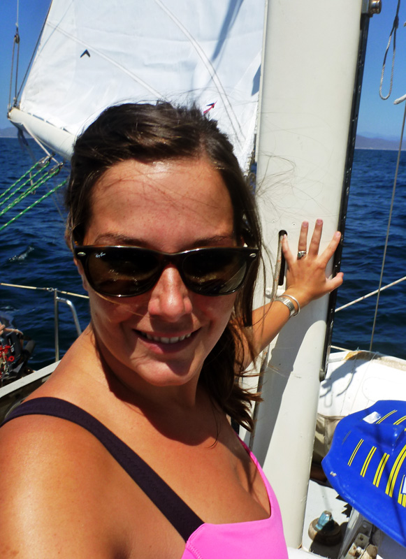 Happy sailing days around Cabo Corrientes