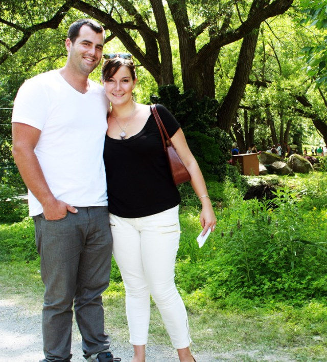 Us in the Montreal Botanical Gardens