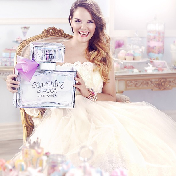 Jessica Kruger   New face of Lise Watier's Something Sweet Perfume Campaign