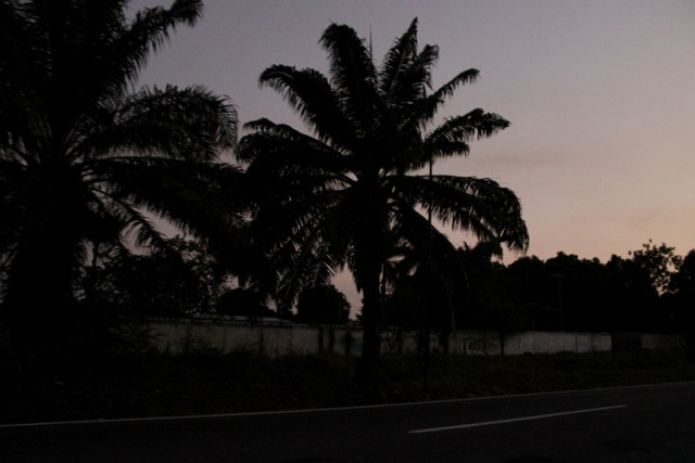 Night-time in Tapachula