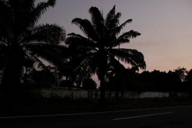 Night-time in Tapachula