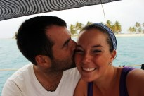 Celebrating 17 months of marriage in the San Blas Islands :)