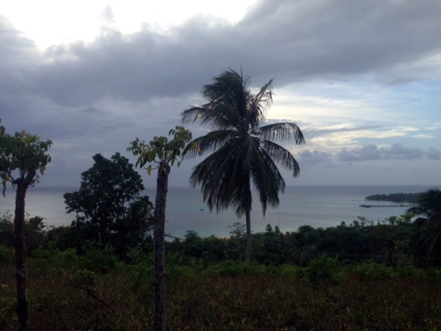View of the bay from Quinn Hill, Big Corn Island