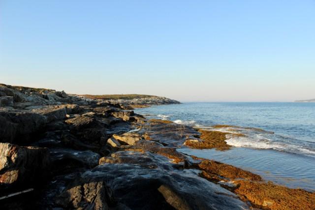 Maine has beautiful coasts