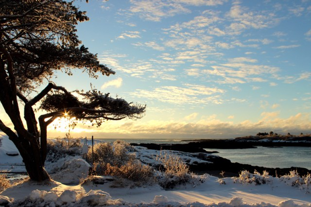 Bailey Island, Maine in November