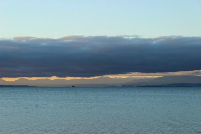 Crazy clouds on the sunshine coast