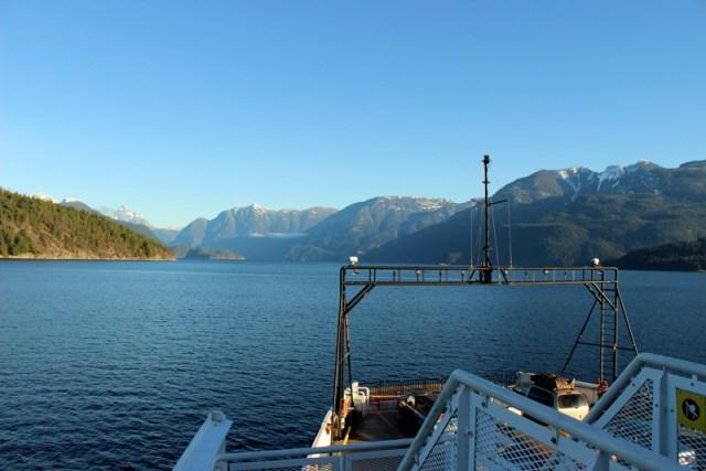 BC Ferries Ride to Lund