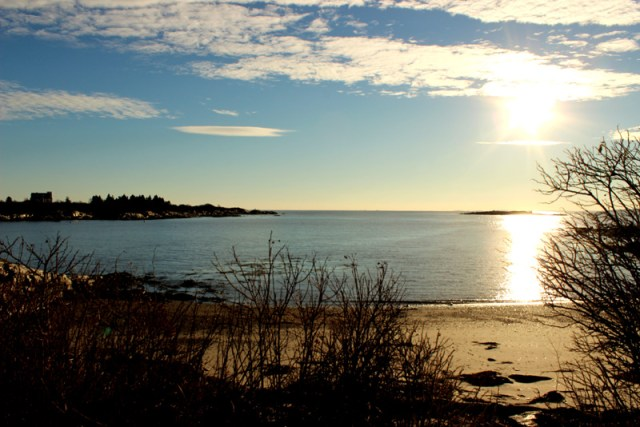 Bailey Island, Maine in January
