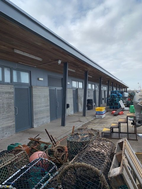 Withernsea commercial fishing compound units