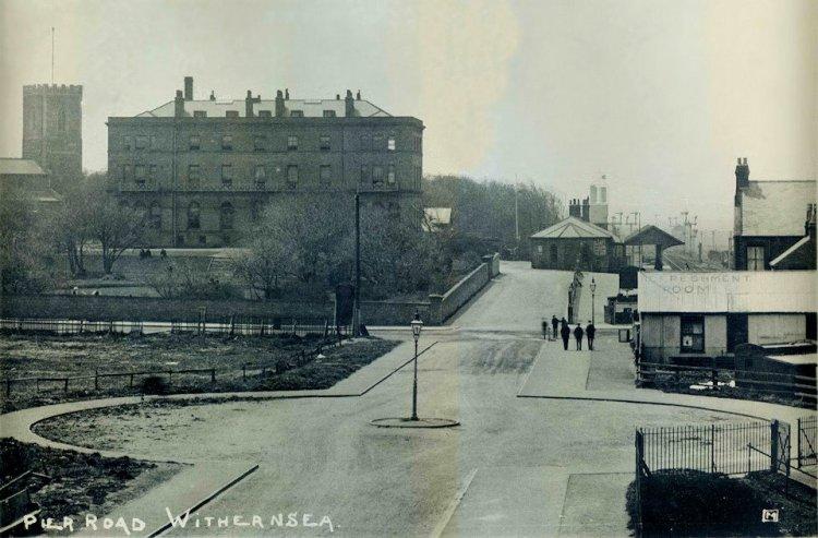 Meridian Land Old Black & White Photograph