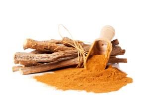 Liquorice powder and sticks