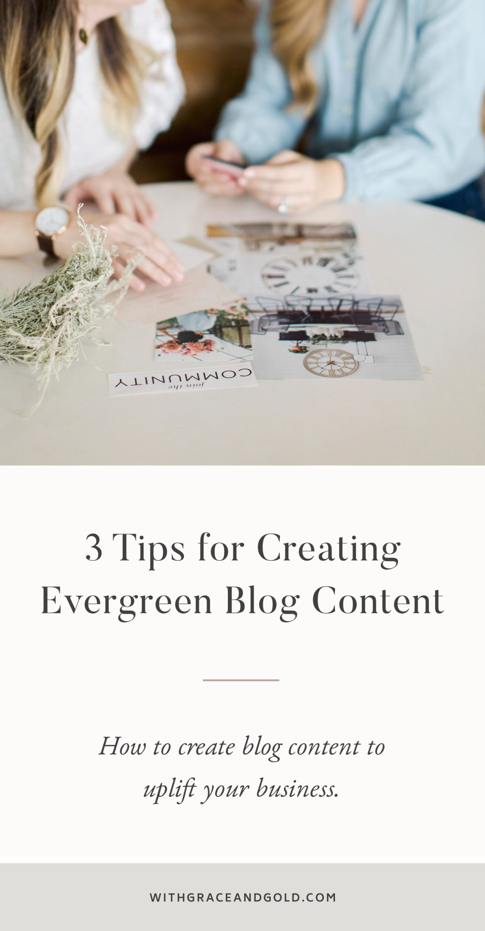 3 Tips for Creating Evergreen Blog Content