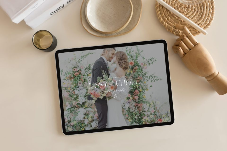Custom Brand and Showit Web Website Design for Photographer Photographers Light Airy Fine Art - With Grace and Gold - Best Brand and Web Design for Small Businesses - 25