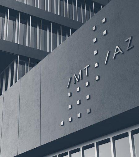 Signage showing the Imtiaz logo